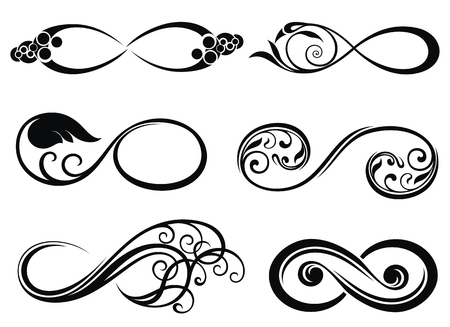 Infinity, pour toujours le symbole Banque d'images - 69882607