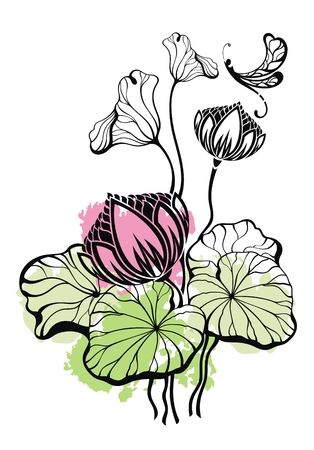 22,003 Lotus Flower Stock Vector Illustration And Royalty Free ...