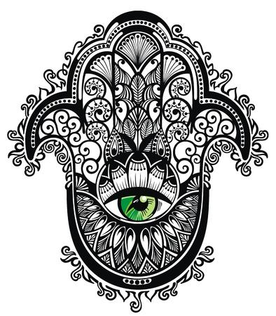 Decorative hamsa