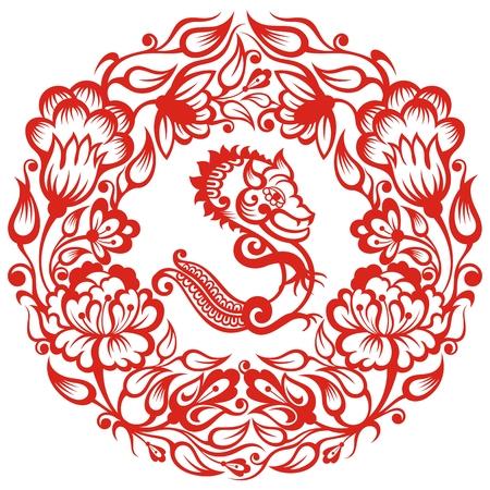 Chinees teken - Dragon.