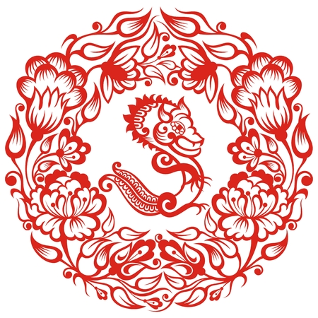 Chinese sign - Dragon.