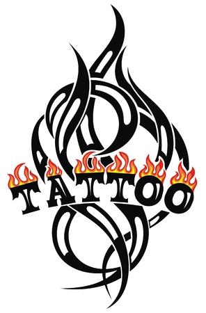 Tattoo tribal vector designs. Art tribal tattoo. Illustration