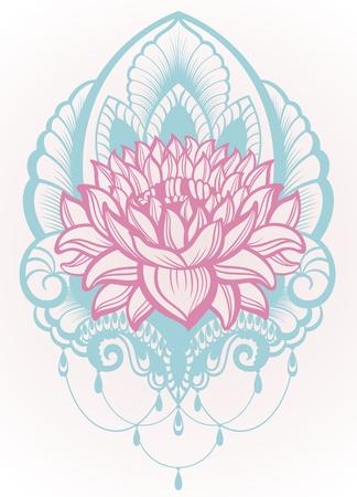 Vector Lotus Illustration