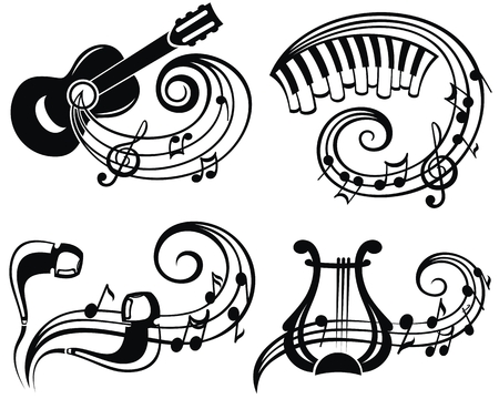 Music Symbol Vector Illustration For Your Design Royalty Free