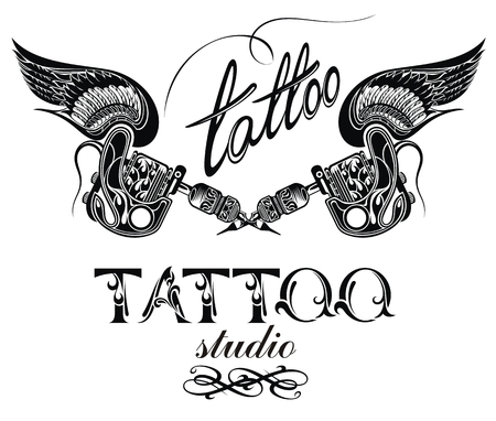 3 119 Tattoo Shop Stock Illustrations Cliparts And Royalty Free