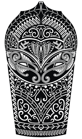 Arm tattoo in abstract style