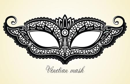Máscaras de carnaval. Colección para decoración de fiestas