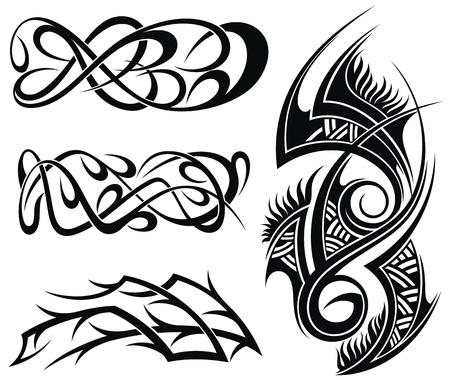 Art Deco Art Tribal Tattoo