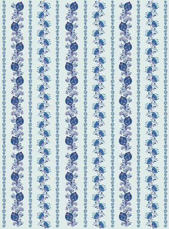 Floral Pattern. Pattern with flowers for design Ilustração