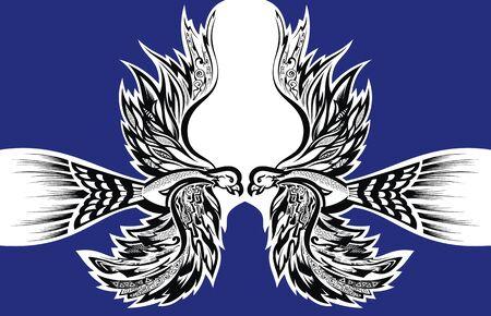 Phoenix Bird Tattoo. Bird phoenix flying