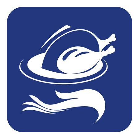 Food icon. Restaurant line icon. Vector illustration.