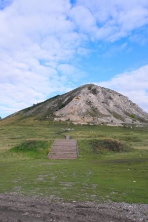 Memorial, Shikhan Tra-Tau. Russia, Bashkortostan.