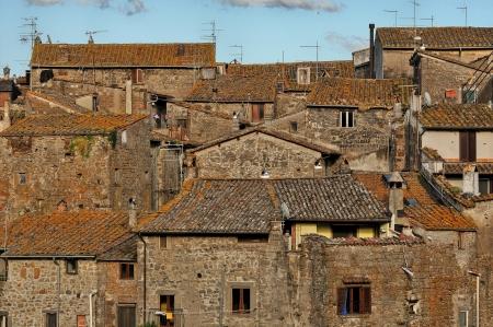 vitorchiano: A detail of rural Vitorchiano village