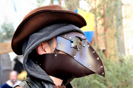 plague: plague doctor medieval mask