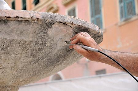 antiquity: sandblasting antiquity