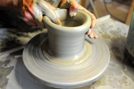 The pottery Stock Photo