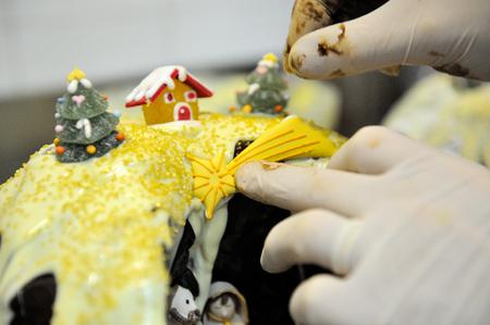 polar star up to traditional chocolat italian christmas italian cake