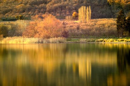 Deep autumn Stock Photo