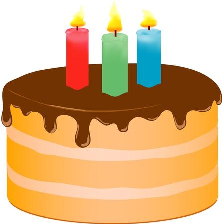cake Иллюстрация