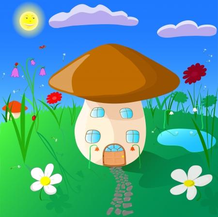 mushroom Stock Vector - 16268070