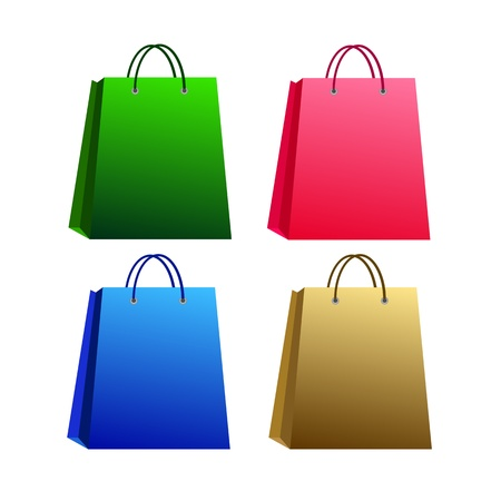 shopping bags Stock Vector - 17530420