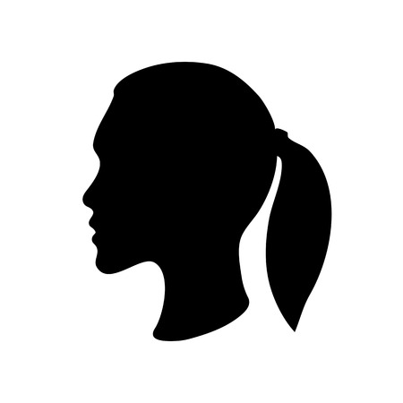 sillhouette of a woman