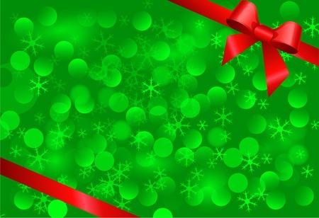 groene Kerst achtergrond Stock Illustratie