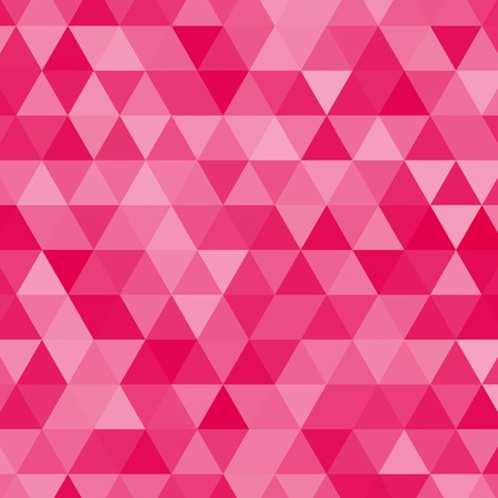 pink vector triangles background Çizim