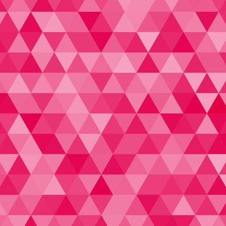 roze driehoeken vector achtergrond