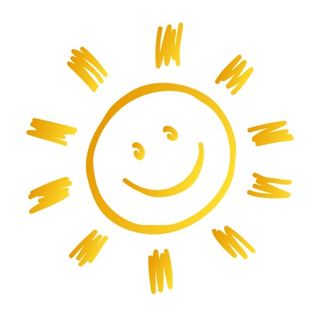 sun smiled
