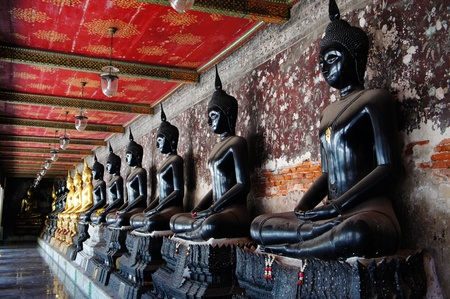 the sacral: buddha is sacral in thai temples