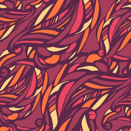 Seamless abstract pattern in color Vector