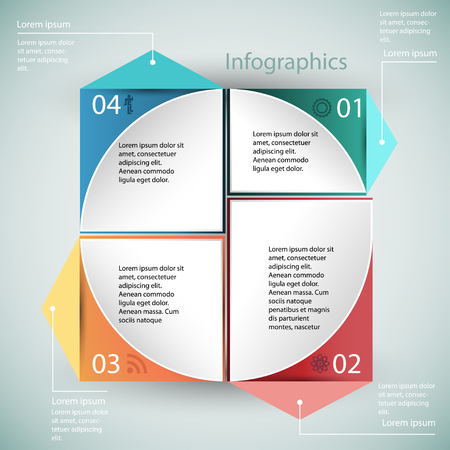 organization structure: Infographics, business, organization structure, template on a neutral background