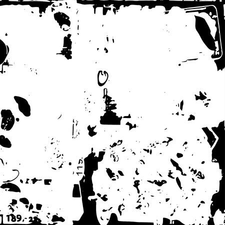 textures: Texture Hintergründe Grunge-Elemente in Schwarz und Weiß