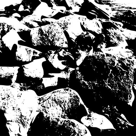 arte abstracto: fondos de textura en blanco y negro
