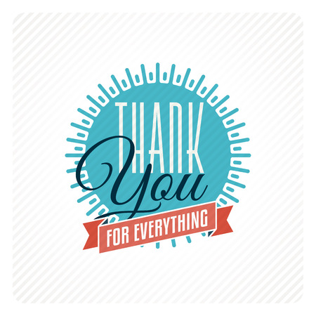 thank you card: Vintage thank you card
