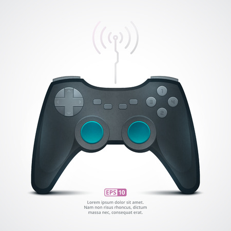 game pad: Realistic Illustration of a Game Pad Illustration
