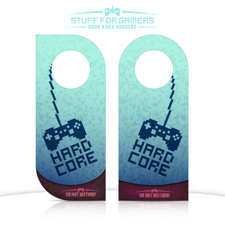knob: Set of gaming related door knob hangers