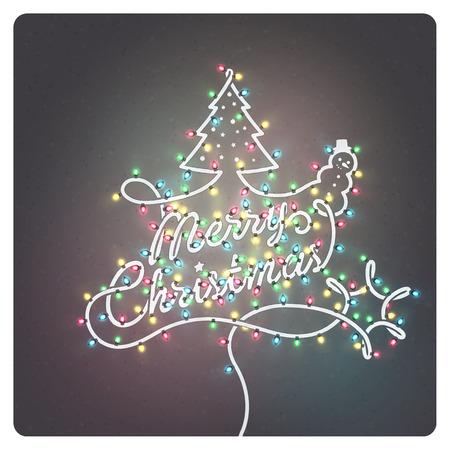 greeting christmas: Creative Christmas Greeting Card
