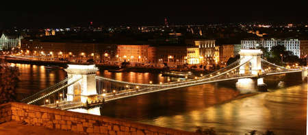 Chain Bridge the landmark from Budapest photo