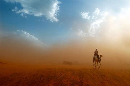 Wüste  Standard-Bild - 7606554