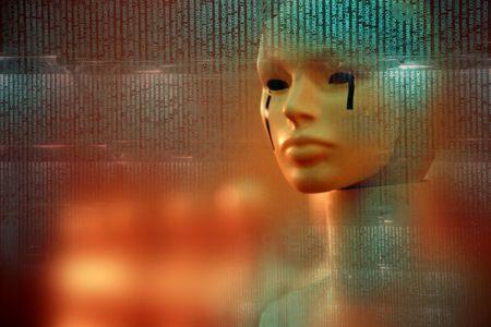 cyber woman photo