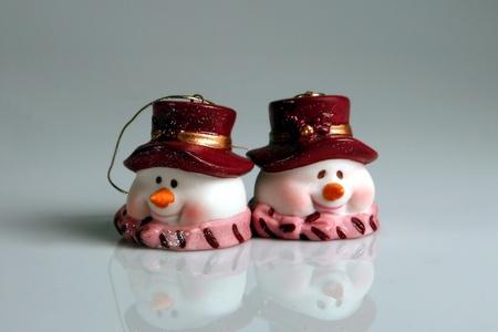 monta�as caricatura: marioneta de nieve