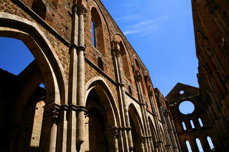 san galgano abbey photo