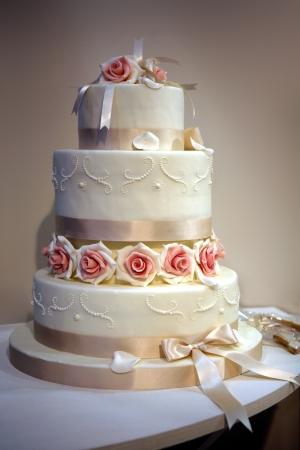 boda pastel: torta de la boda