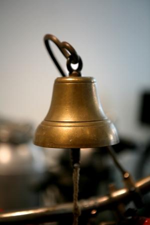 bell bronze bell: campana de bronce Foto de archivo