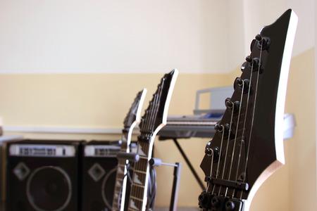 pentagramma musicale: Chitarra elettrica