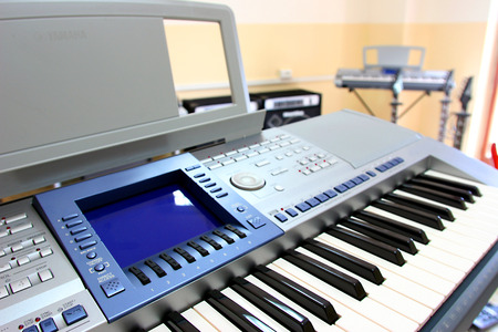 pentagramma musicale: tastiera