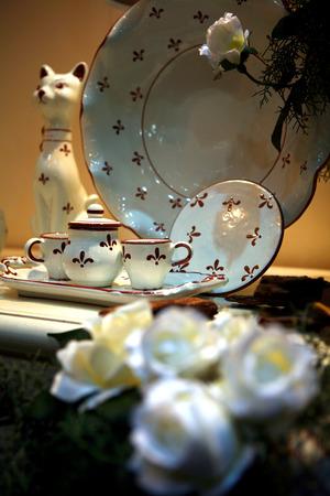 arredamento classico: ceramica