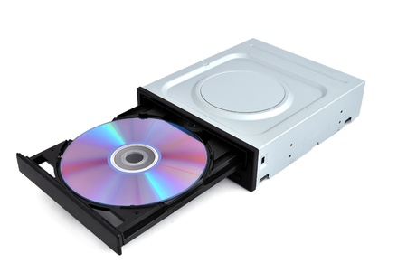 dvd rom: open dvd rom from a CD